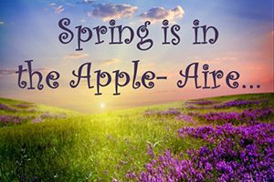 Spring is in the Apple-Aire