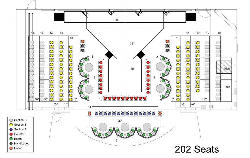2018 Hot August Nights seating chart